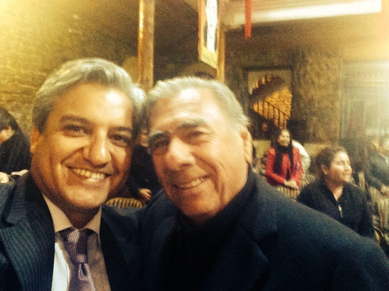 Choche Soria y Patricio Martínez.
