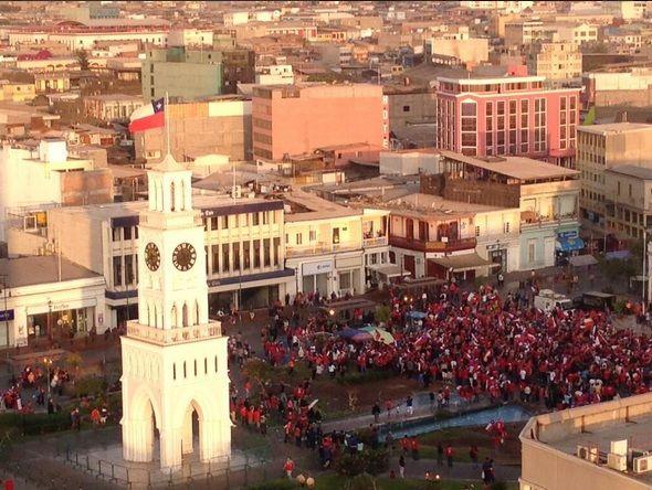 El Centro social iquqiueños en la foto de @anagenoveva