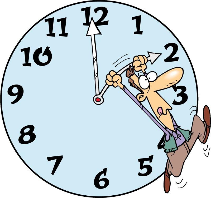 """Esta nochecita, a las doce, tenemos que adelantar los relojes de los celulares para gozar del """"horario de verano"""""""