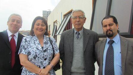 Diego Portales, Mariela Basualto, Humberto Menares y Franco Pizarro.