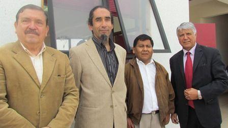 Ángel Arriagada, Iván Ávila, Alfonso Cáceres y Oscar Valenzuela.