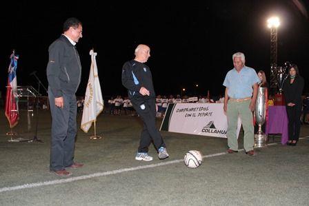 En la inauguración se contó con la colaboración del plantel Club Deportes Iquique liderados por su Director Técnico, Nelson Acosta, quienes ofrecieron a niños y adultos una clínica deportiva, culminando la actividad a las 21horas.