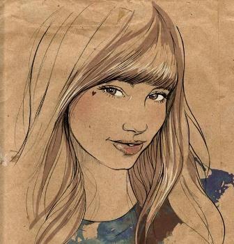 La imagen es de Miss Led, ilustradora inglesa.