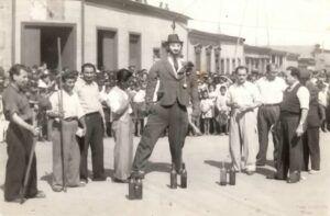 Frente al D´ndalo, Sotomayor con Juan Martínez (Foto gentileza Bernardo Guerrero).