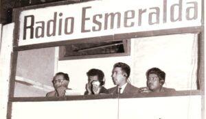 Radio Esmeralda A.M. en los años 60 (Foto gentileza Bernando Guerrero).