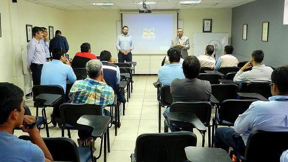 Taller Seguridad implementó Eliqsa para personal técnico que estará encargado del retiro de cableado en desuso