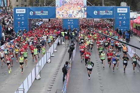 165 corredores de la Región de Tarapacá serán parte del Entel Maratón de Santiago 2017