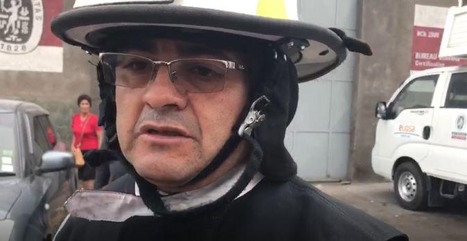 Bomberos llamó a transeúntes a mantener la calma en caso de ser testigos de accidentes y esperar la llegada de unidades de emergencia