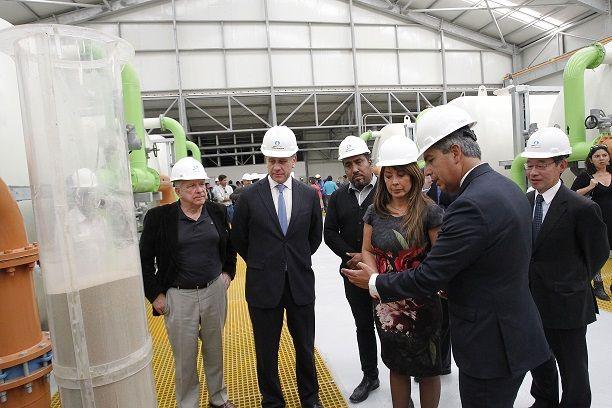 Aguas del Altiplano sumó hoy nueva planta  que asegura calidad y cantidad de suministro de agua