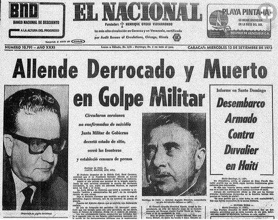 A 44 años del golpe militar que derrocó a Salvador Allende: Dos visiones para la historia reciente