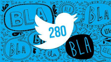 En etapa de prueba para algunos usuarios: Twitter ampliará a 280 el límite de caracteres
