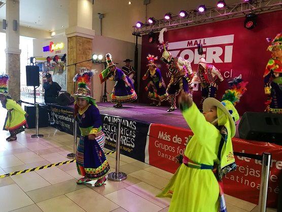 Primera versión de concurso pone en valor la cultura en la región: Olimpiadas folclóricas son atracción en Mall ZOFRI