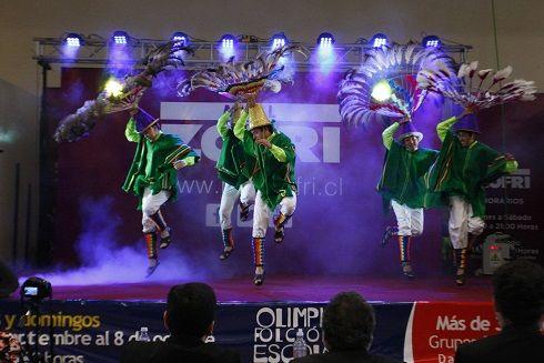 Masiva concurrencia en jornada final desarrollada en el centro comercial:  Mall ZOFRI: éxito total en cierre de olimpiadas folclóricas