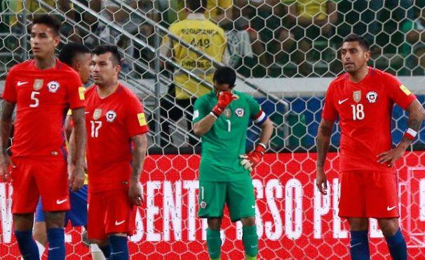¡Cagamos! Eliminados de la peor forma… Brasil 3 -Chile 0