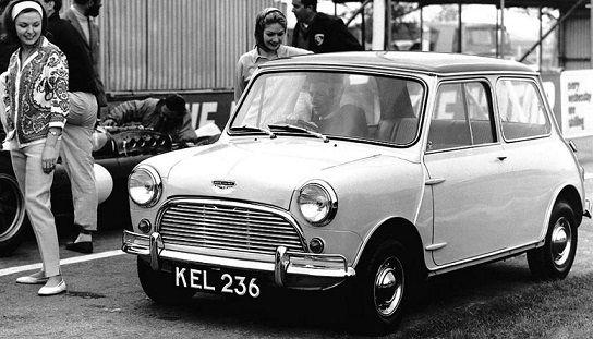 MINI lanzará un coche retro basado en su modelo de 1969