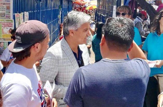 """Patricio Martínez, candidato a diputado: """"Le pido al Gobierno que no desaloje familias de Campamentos de Emergencia"""""""
