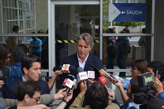 En el Tribunal de Garantía:Senador Fulvio Rossi presentó querella por amenazas, lesiones y atento contra la autoridad