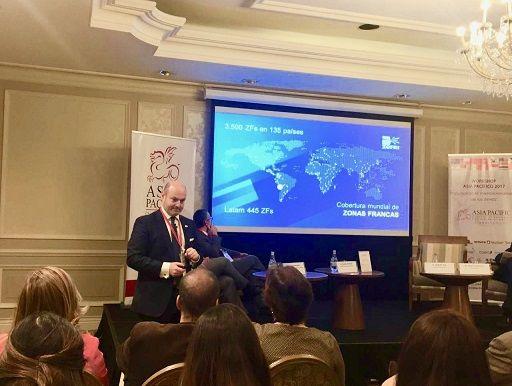 Gerente General de Zofri S.A. expone sobre  sistema franco en Workshop Asia-Pacífico 2017