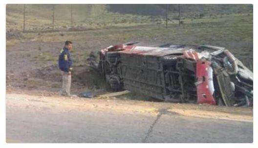Bus de delegación deportiva chilena sufre accidente en Mendoza: al menos tres muertos