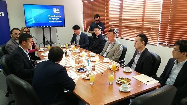 Integra consorcio que industrializará el litio en nuestro país: Coreana Posco conoce ventajas de operar en Parque ZOFRI Alto Hospicio