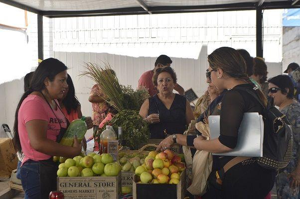 Hoy viernes en la Plaza Prat; Mercado Campesino en la  Plaza Prat