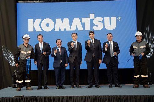 Komatsu Chile inaugura nuevas instalaciones en Alto Hospicio