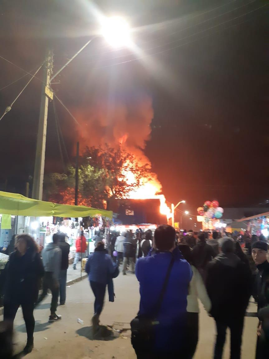 Repudio total a ataque a bomberos en La Tirana