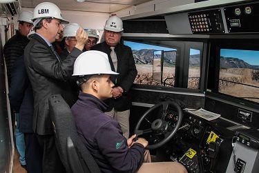Proyecto educativo del Liceo minero Juan Pablo II es destacado por el Ministro de Educación