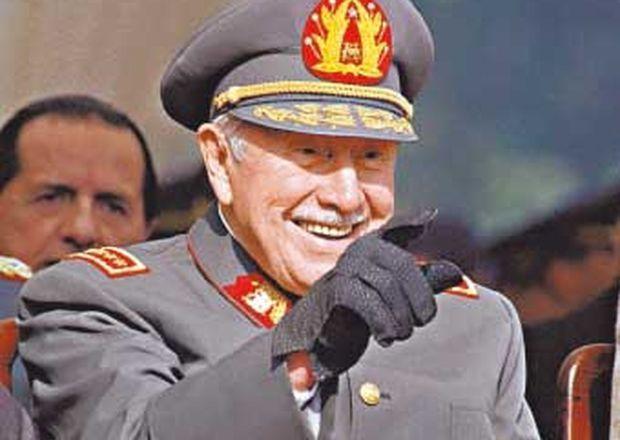 Aniversario de los avionazos y del golpe de estado de Pinochet Augusto-Pinochet-